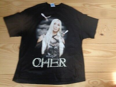 Cher Living Proof Farewell Tour 2003 T Shirt  Size 2Xl Brand New Great Xmas Gift