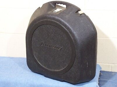 Vintage Ludwig Clamshell Plastic Snare Drum Case, Ufo Flying Saucer Very Good