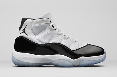 new arrival 3b62d 3079f NEW DS 2018 Air Jordan Retro 11 Concord White Black 378037-100 Sizes 10.5-