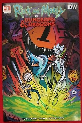 Rick & Morty Vs Dungeons & Dragons Issue #1 Variant Oni PAX West Cover RCCC 2018