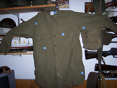 NOS Pre WWII US enlisted wool shirt with sew tags