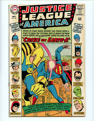 Justice League of America 38  JSA crossover