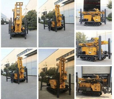 All Terrain Water Well Drilling Rig & Mud Pump ( no air Compressor)
