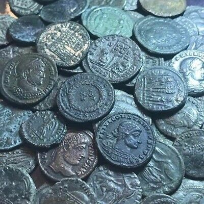 Lot Of 10 X Mixed Ancient Roman Imperial Coins. 10 Coins Per Buy.
