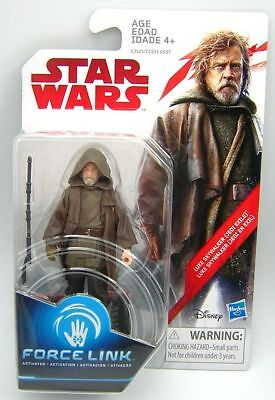 Star Wars The Last Jedi TLJ Luke Skywalker Jedi Exile ( Force Link )
