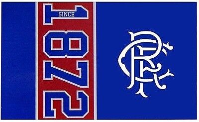 Glasgow Rangers Fc Large Football Club Since 1872 Mast Flag Fc Official Gift Afc