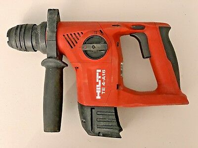 HILTI TE 4-A18  18v CORDLESS ROTARY HAMMER DRILL - TOOL ONLY - USED
