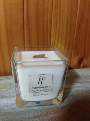 Large Handmade 100% Soy Wax Highly Fragrant Candle 50 Hour Burn woodwick