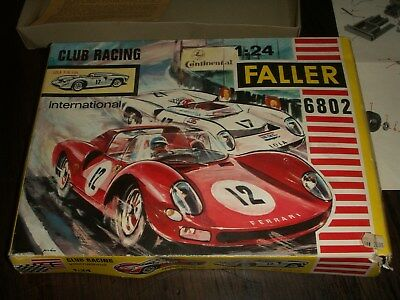 Faller Club Racing Packung  6802 1:24 Lola T 70 mit Anleitung
