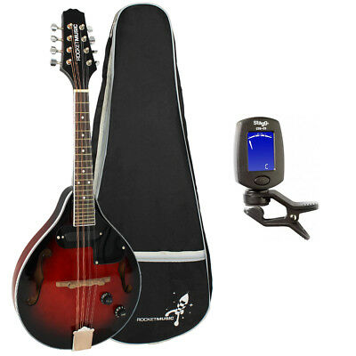 Rocket Electro Acoustic Mandolin with Gigbag and Tuner