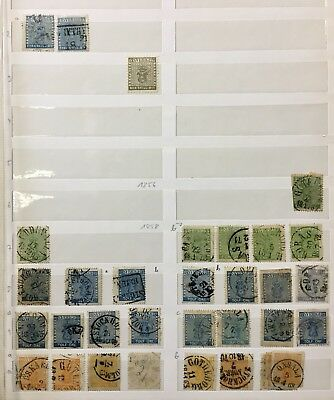1855-1936 Sweden stamps book 39 pages Lot 110