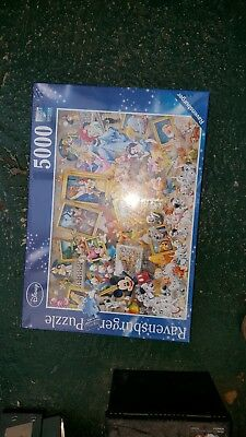 disney multi character puzzle 5000