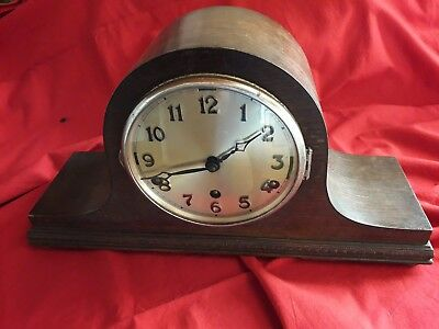 Mantle Piece Clock For Spares Or Repair.