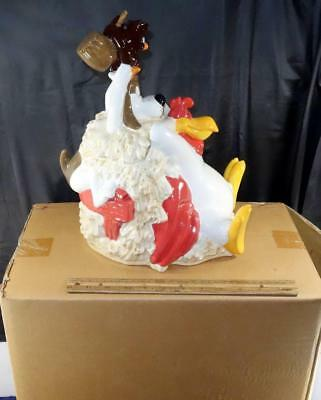Mint In The Box Foghorn Leghorn Cookie Jar Barnyard Dawg Henry Hawk Looney Tunes