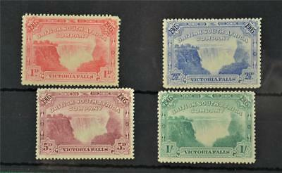 British South Africa Company 4 Early Stamps   H/m   (Y176)
