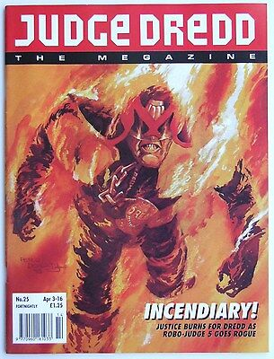 Judge Dredd: The Megazine Vol.2 #25 April 3-16 1993 (Mechanismo Returns)