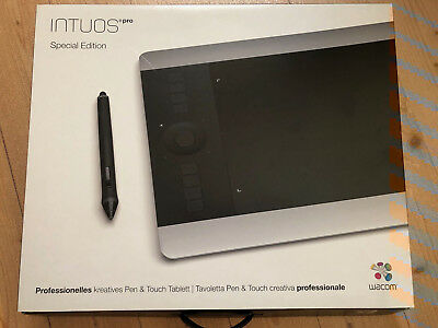 Wacom Intuos Pro (Special Edition) - kreatives Pen & Touch Tablett (unbenutzt)