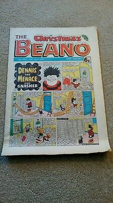 Beano comic Christmas 1978... 6p........40 years old nearly......VGC.