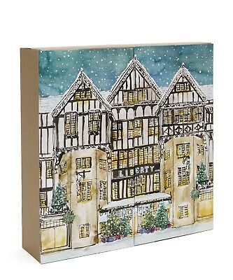 Liberty of London Advent Calendar 2018 Brand New  EMPTY