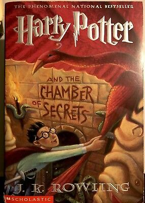 First Edition Harry Potter and the Chamber of Secrets (Book 2) Softcover