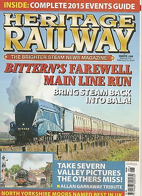 Heritage Railway - January 2015 - Issue 198