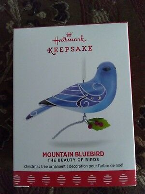 Beauty of Birds MOUNTAIN BLUEBIRD #13 Hallmark New Condition w/ BOX