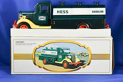 1982 FIRST HESS TRUCK Toy Gas Tanker in Original Box