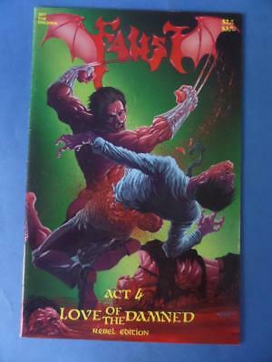 Faust Vol 2 4 Love Of The Damned Tim Vilgil Vf+ Adults!
