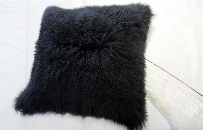 59fdaad909d REAL MONGOLIAN TIBETAN Lamb Fur Pillow Cushion Cover Pillowcase Soft ...