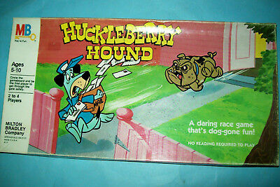1981 Huckleberry Hound Board Game   Complete   Hanna-Barbera   Free Shipping