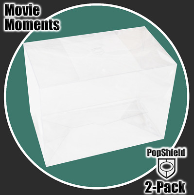 5 Pack FUNKO MOVIE MOMENTS Pop Shield! BOX PROTECTOR PLASTIC CRYSTAL