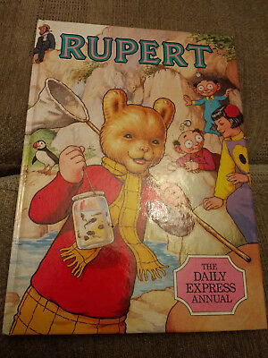 Rupert Book Daily Express Annual 1986 Good condition Price intact