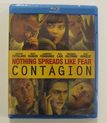 Contagion (Blu-ray Disc, 2012) (Brand New / Factory Sealed)