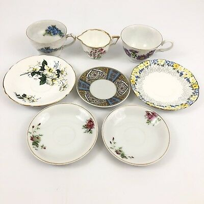 Lot Of Vintage Tea Cups And Saucers
