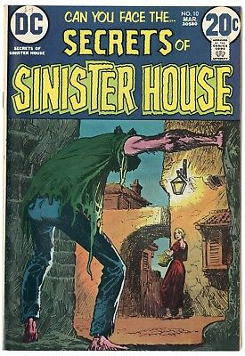 Secrets of Sinister House #10 NM- 9.2 white pages  DC  1973  No Reserve