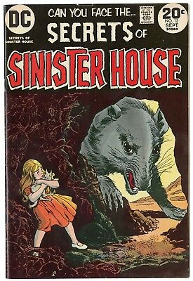 Secrets of Sinister House #13 VF/NM 9.0 ow/white pages  DC  1973  No Reserve