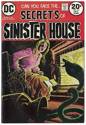 Secrets of Sinister House #14 NM- 9.2 ow/white pages  DC  1973  No Reserve