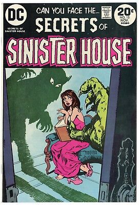 Secrets of Sinister House #15 NM- 9.2 ow/white pages  DC  1973  No Reserve