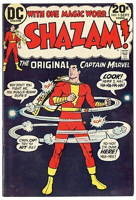 Shazam! #5 VF/NM 9.0 ow/white pages  Captain Marvel  DC  1973  No Reserve