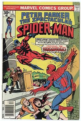Spectacular Spider-Man #1 NM- 9.2 white pages  Marvel  1976  No Reserve