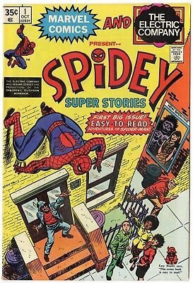 Spidey Super Stories #1 VF 8.0 ow/white pages  Marvel  1974  No Reserve