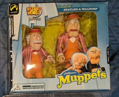 Statler and Waldorf Muppets Palisades Vaudeville Exclusive Collectible NIB