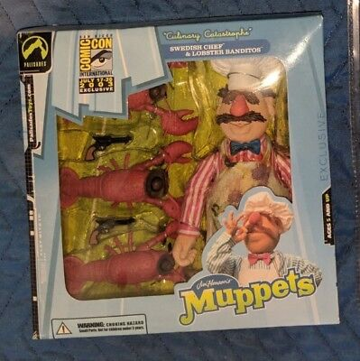 Swedish Chef & Lobster Banditos Culinary Catastrophe Muppets Palisades