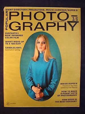 Popular Photography Magazine - December 1965 -