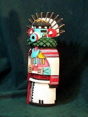 Hopi Kachina Doll - Talavai, the Dawn Singer Kachina - Gorgeous!