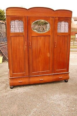 Stunning Vintage Triple Wardrobe - Collection Ll21