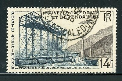 New Caledonia Air Post Used Selections: Scott #C26 14Fr Nickel Ore Mining $$