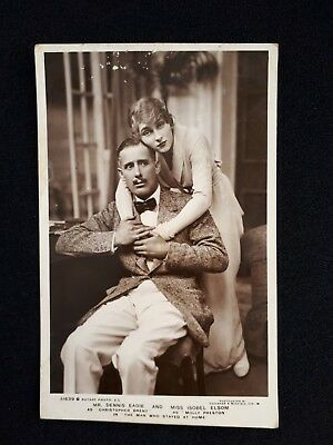 Kgv 1915 Rppc Dennis Eadie/isobel Elsom - The Man Who Stayed At Home Hanwell Cds