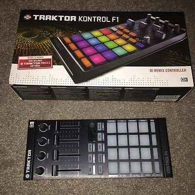 Native Instruments traktor F1 Dj Controller Remix Decks