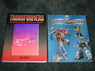 Transformers - Identification And Price Guide By Mark Bellomo 2007 + Other Book